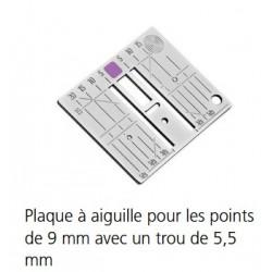 PLAQUE A AIGUILLE 5,5 MM