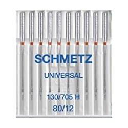 AIGUILLES UNIVERSELLES SCHMETZ 80/12